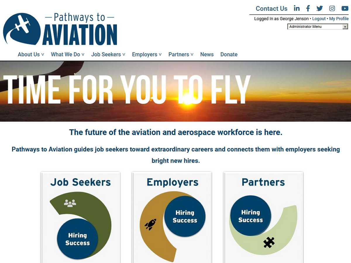 Pathways to Aviation Screenshot
